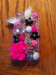 Victoria's Secret inspired case  by DazzlingCases on Etsy, $25.00