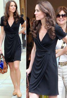 86cbd623c A Kate Middleton é super fã do vestido envelope e de vez em quando desfila  com