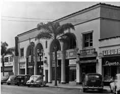 400 block of North Beverly Drive, Beverly Hills, circa early Garden Of Allah, San Luis Obispo County, Vintage Hollywood, Back In The Day, Southern California, Beverly Hills, Street View, 1930s, History