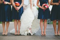 this Bride has great side shoe  Photography by sessionninephotography.com