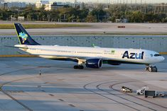 Azul Brazilian Airlines, Airbus A330, Airplane Photography, Air Photo, Civil Aviation, Spacecraft, My Happy Place, Airplanes, South America