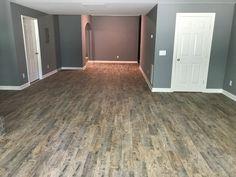 Basement Color Schemes, Basement Paint Colors, Basement Layout, Low Ceiling Basement, Basement Walls, Basement Flooring, Mobile Home Renovations, Basement Renovations, Basement Bar Designs