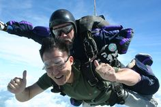 Jumped from 14,000 feet at Skydive Houston