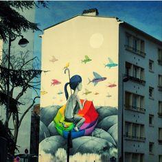 Balade Paris 13eme street art Seth Globepainter France