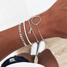 Bracelets, Silver, Accessories, Beauty, Jewelry, Fashion, Silver Bracelets, Cute Bracelets, Make Jewelry