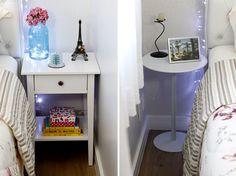 Os criados-mudos do quarto de casal http://comprandomeuape.com.br/ #bedroom #criadomudo #bedtable