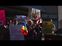 Save Rosia Montana - Protests in Toronto Septembrie 2013