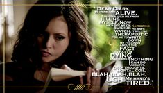 Top 11 Quotes From The Vampire Diaries Season 5... #9