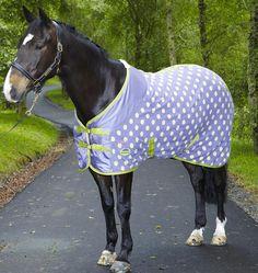 Weatherbeeta + Joules makes polka- dot fleece coolers? And I was not informed? Ha!