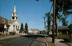 Main Street, Cape COd West Dennis Massachusetts