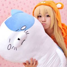 Himouto! Umaru-Chan Cat Body Pillow Shut Up And Take My Yen : Anime & Gaming Merchandise