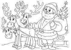 Blog de los niños: Dibujos para colorear de Navidad