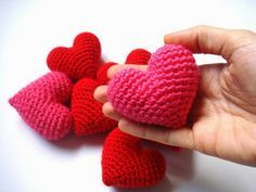 Here is a video about How to make a 3D Crochet Puffy Heart. Crochet for Beginners...