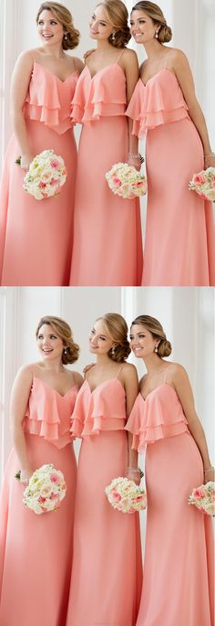 Very pretty bridesmaids gowns