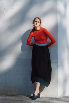 Shop full colelction of Dresses, tops, knits, shoes and more. Waist Skirt, High Waisted Skirt, Winter 2017, Knitting, Skirts, Vintage, Shopping, Collection, Tops