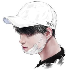 I'm digital artist who loves drawing and games ♡ Jimin Fanart, Kpop Fanart, Anime Art Girl, Anime Guys, Bts Drawings, Body Poses, Bts Chibi, Dark Anime, Bts Fans