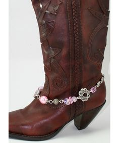 Flirty Pink Boot Bling - Jewelry Accent to your Boots - Boot Jewelry