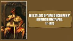 "The Exploits of ""Hari Singh Nalwa"" in British Newspaper, Tit-Bits"