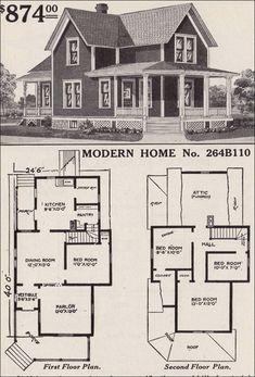 11 best sears homes images in 2019 vintage house plans home plans rh pinterest com