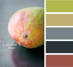 """Bedroom colors - """"picked hues"""""""
