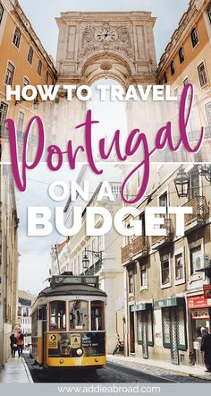 Portugal on a Budget // What I Spent in 2 Weeks in Portugal: Think you have to go to Eastern Europe to travel Europe on a budget? This guide will tell you all about how to travel Portugal on a budget of only 55 a day! via Addie Abroad Europe Destinations, Europe Travel Tips, European Travel, Budget Travel, Travel Guides, Travel Hacks, European Vacation, Travel Deals, Travel Packing