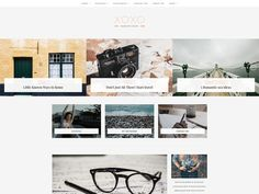 XOXO - A Blog and Shop Theme by DannyWordPress on @creativemarket #wordpresspersonalblogtheme #wordpressshoptheme #ecommercetheme
