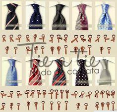 nó de gravata!!
