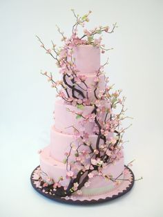 Ron Ben-Isreal's gorgeous cherry blossom cake - a most copied original