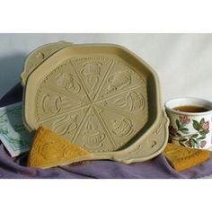 Tea Time Shortbread Pan | Ceramic bakeware - Kitchen Krafts