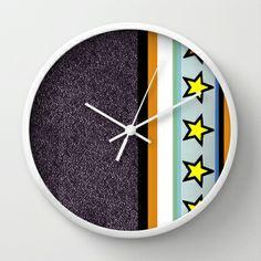 Star Quality Wall Clock Wall Clocks, Stars, Sterne, Clock Wall