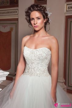 Veronika Kubařová | Svatební účesy 2016 Honza Kořínek: The BRIDES Veronica, Wedding Dresses, Fashion, Bride Dresses, Moda, Bridal Gowns, Fashion Styles, Wedding Dressses
