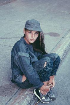 #spring #feminino #sportwear #indigo #jeanswear #oversized #bluejeans #FocusonJeans® #FocusTextil