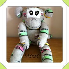 Sock monkey - The Supermums Craft Fair Sock Crafts, Diy Crafts, Monkey 2, Girl Scouts, Craft Fairs, Gifts For Kids, Dinosaur Stuffed Animal, Snoopy, Sock Monkeys