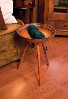 chair side yarn bowl