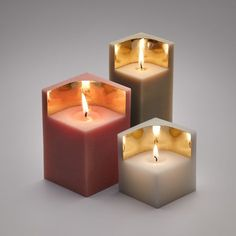 Auric candles by Ontwerpduo