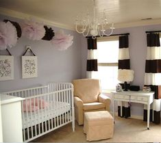 Inspired By Amethyst, 10 Purple Hued Nurseries for Babies | Disney Baby