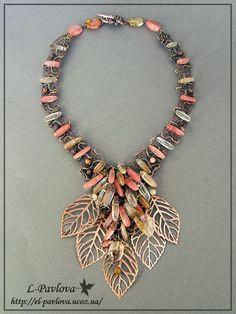 elena pavlova | Necklace | Elena Pavlova. 'The wind, fall in ... | *Just a lil Blin...