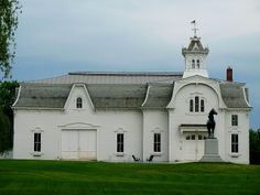 Breeding Barn & Stable (1878), Weybridge, Vermont. On April 11, 1973, the National Park Service added this structure to the National Register of Historic Places (#73000183).