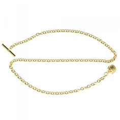 Patinova Longevity Lapel Chain - Gold