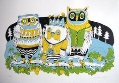 em.en. | Fler.cz Owls, Owl, Tawny Owl