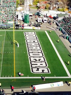 Saskatchewan Roughriders! Canadian Football League, Best Football Team, Go Rider, Canadian People, All About Canada, Saskatchewan Roughriders, Saskatchewan Canada, Rough Riders, Baseball Field