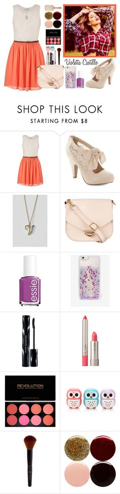 Violetta Style #6 by violetta-leonetta on Polyvore featuring beauty, Shiseido, Ilia, Forever 21, Nails Inc., Essie, Philip Kingsley, Skinnydip, Lands' End and ZALORA