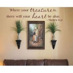 Wall decal -- living room photo wall