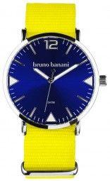 Bruno Banani Cool Color Edition Uhr BR30059 - gelb/blau