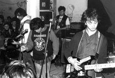 Negazione x-mas 1985 at the OOC Squat in Venlo