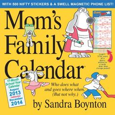 Top 2014 Mom Calendars