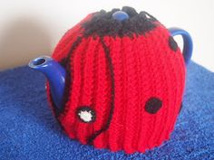 Lady Bird two way tea cosy - crochet made in Australia