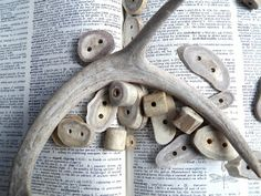 Live In Art: How To Make Antler Buttons