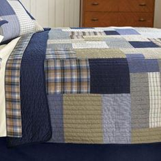 nice olive and navy color scheme Whistler, Canada Shopping, Cream Walls, Cozy Blankets, Quilt Bedding, Color Pallets, Online Furniture, Bed Spreads, Mattress