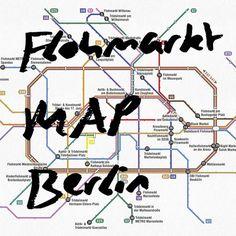 Vintage-Fans aufgepasst! Mit der Berliner Flohmarkt MAP findet ihr schnell zum besten Flohmarkt der Stadt. Eine Orientierungshilfe im Großstadtdschungel.